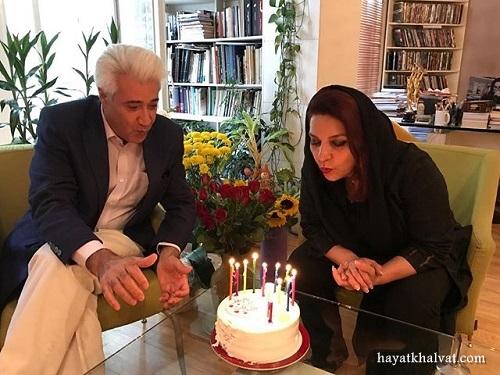 تولد تهمینه میلانی در کنار همسرش