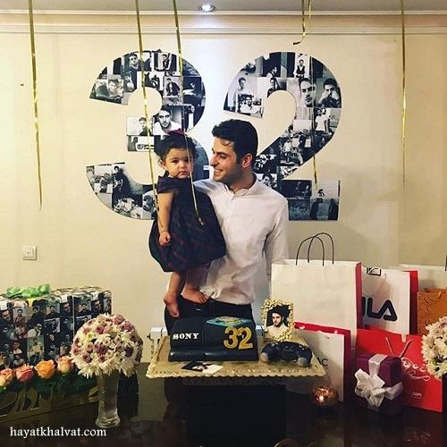 جشن تولد 32 سالگی علی ضیاء