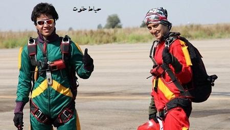عکسهای بدلکار ایرانی مهسا احمدی