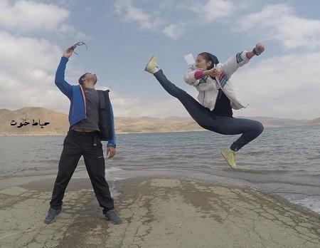 مهسا احمدی بانوی بدلکار ایرانی