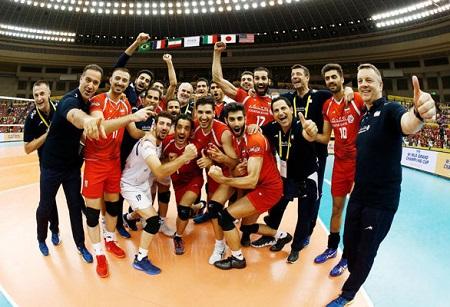 ایران 3- فرانسه 2 | والیبال ایران سد فرانسه را هم شکست!