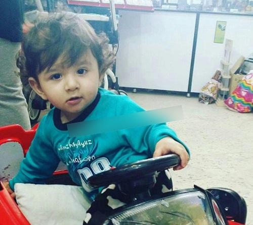 اهورا پسر بچه 2 ساله گیلانی