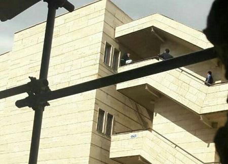 خودکشی دختر جوان در بیمارستان امام خمینی+ عکس