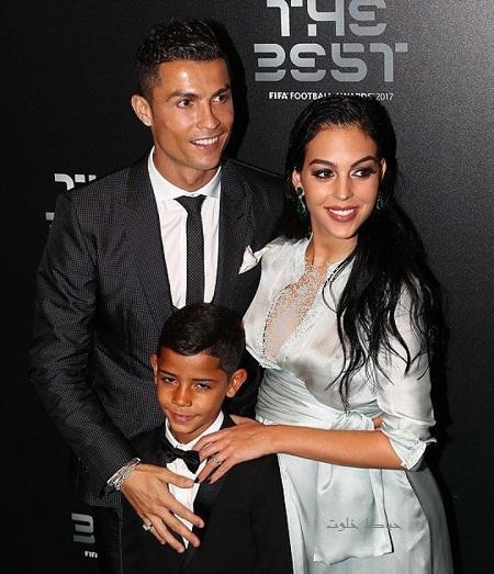 رونالدو و همسرش