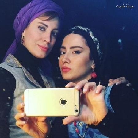 تصاویر بهارک صالح نیا بعد از کشف حجاب در شبکه gem tv