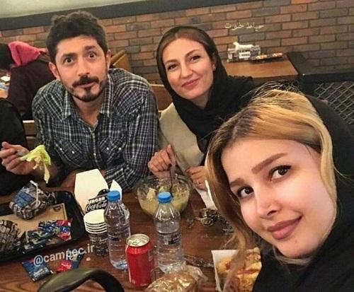 حدیث میرامینی و همسرش ,مجتبی رجبی