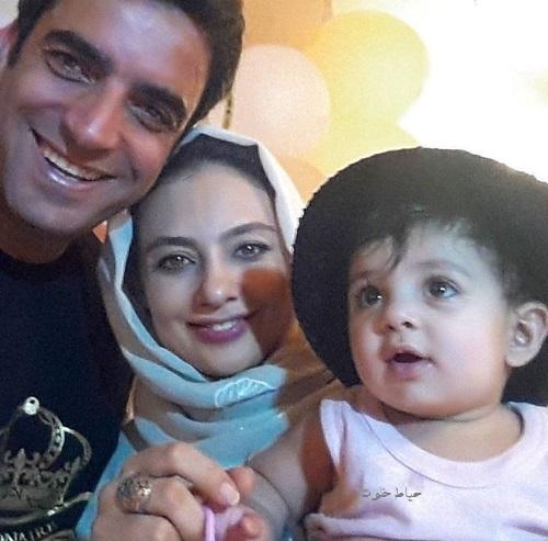 یکتا ناصر و همسرش , یکتا ناصر و دخترش