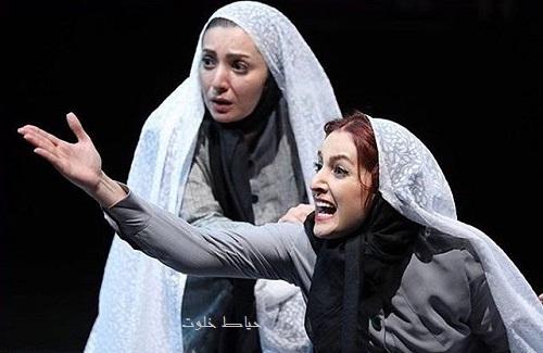 شقایق دهقان در نمایش کوکوی کبوتران حرم