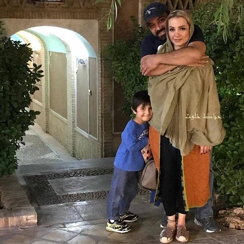 برزو ارجمند و همسرش , برزو ارجمند و پسرش