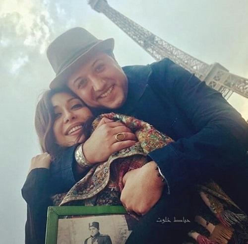 حامد نیک پی و همسرش