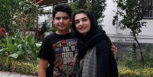 الیکا عبدالرزاقی و برادرزاده اش
