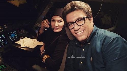 رضا رشیدپور ,کاپیتان فهیمه احمدی