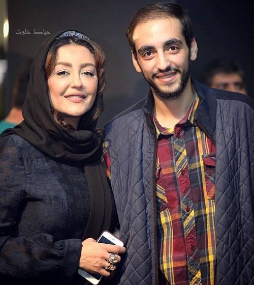 شقایق فراهانی و پسرش , بازیگران در اکران فیلم سینمایی شنل