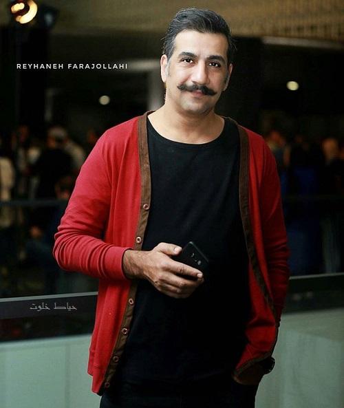 محمد نادری در اکران فیلم شنل, محمد نادری