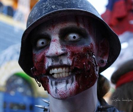 گریم های هالووین ترسناک