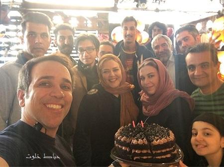 تولد امیر کربلایی زاده در پشت صحنه فيلم آقاي سانسور