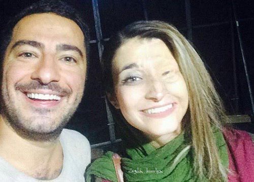 نوید محمدزاده و مرضیه ابراهیمی یکی از قربانیان اسیدپاشی