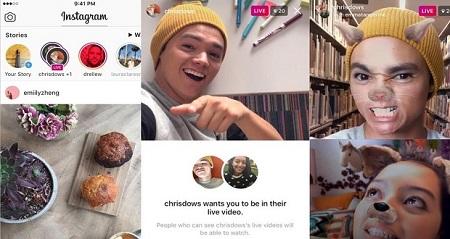 آموزش ارسال لایو ویدیو دو نفره در اینستاگرام+عکس