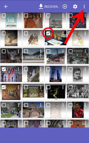 آموزش بازگرداندن تصاویر پاک شده موبایل