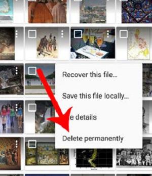 نرم افزار بازگرداندن عکسهای پاک شده موبایل