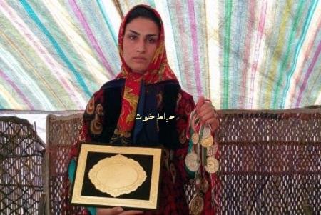 بیوگرافی و عکس های سوسن رشیدی قهرمان کیک بوکسینگ ایران