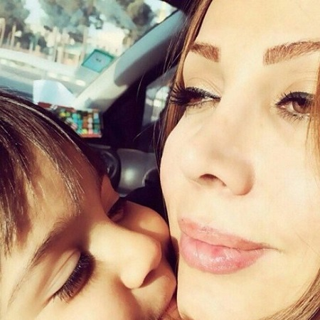 عکس همسر محسن چاوشی و پسرش