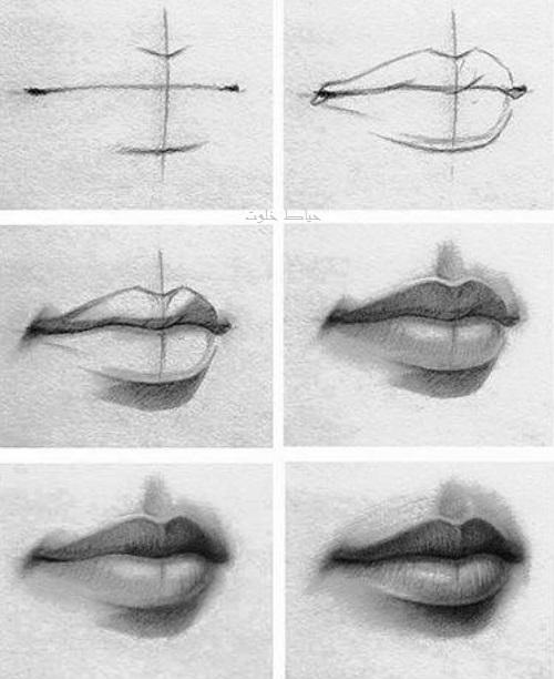 مدل طراحی لب