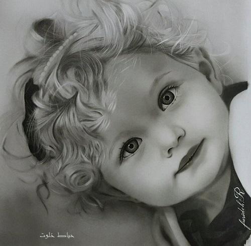 مدل طراحی چهره کودک