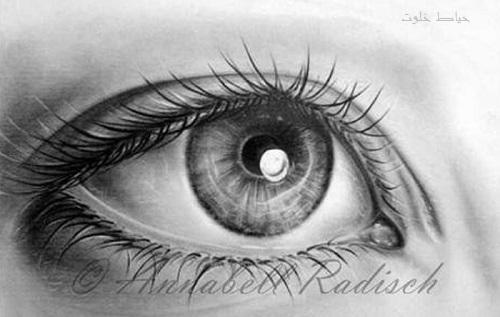 مدل طراحی چشم