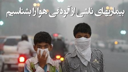 آلودگی هوا باعث چه بیماری های می شود؟ چند راهکار مراقبتی