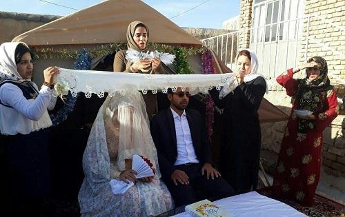 ازدواج زوج زلزله زده سرپل ذهاب