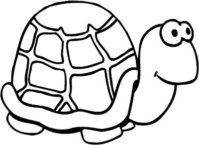 نقاشی کودکانه لاک پشت