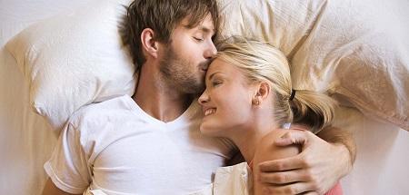 زوج های خوشبخت , خوابیدن عاشقانه