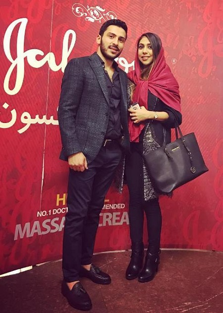 دختر عابدزاده حیاط خلوت - عکس دختر احمدرضا عابدزاده و همسرش