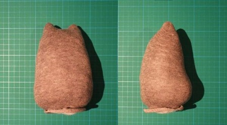 عروسک گربه جورابی , ساخت عروسک با جوراب