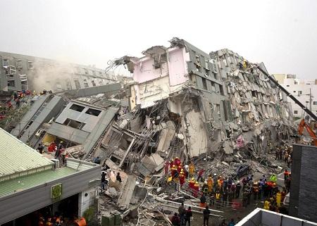 قوی ترین زلزله ها در جهان