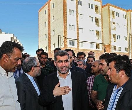 پاسخ جنجالی وزیر احمدی نژاد به ماجرای مسکن مهر در زلزله کرمانشاه