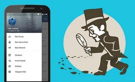 برنامه چک پروفایل تلگرام