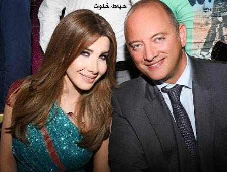 عکس نانسی عجرم و همسرش فادی هاشم