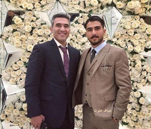 امیر عابدزاده و پدرش