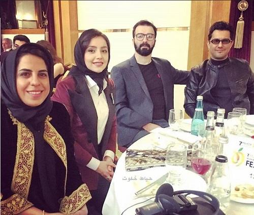 عکس بازیگران در جشنواره فیلم مالاتیا ترکیه