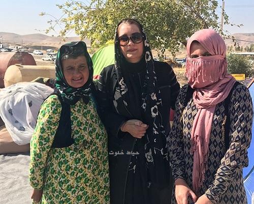 فریبا کوثری , زلزله کرمانشاه