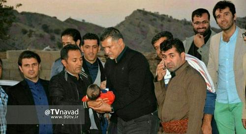 علی دایی , زلزله کرمانشاه