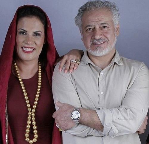 مجید مشیری و همسرش