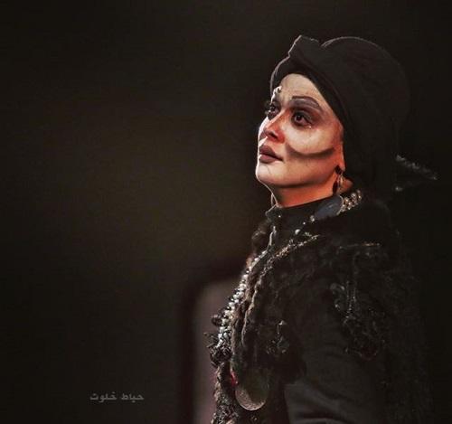 مارال فرجاد در نمایش طپانچه خانوم