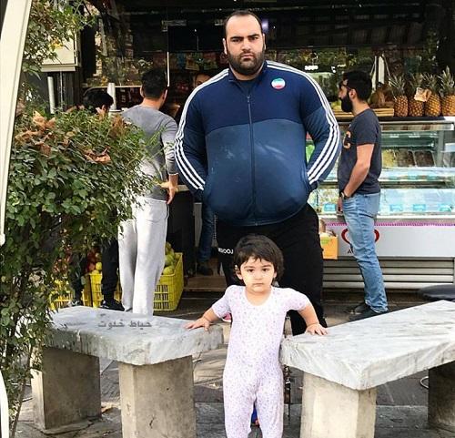 بهداد سلیمی و دخترش