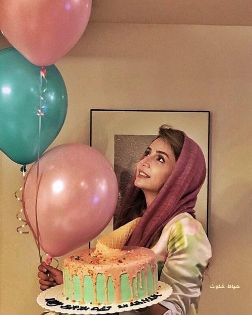 جشن تولد شبنم قلی خانی , شبنم قلی خانی