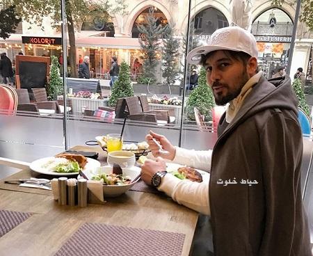 دانیال عبادی و یک صبحانه لاکچری