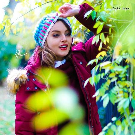 عکس شاد و رنگی نیلوفر پارسا