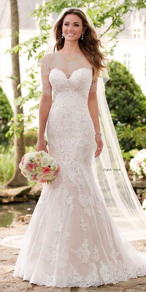 لباس عروس دانتل جدید